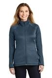 Women's The North Face Canyon Flats Stretch Fleece Jacket Urban Navy Heather Thumbnail