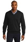 Port Authority V-neck Sweater Black Thumbnail