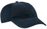 Brushed Twill Low Profile Cap Navy Thumbnail