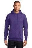 7.8-oz Pullover Hooded Sweatshirt Heather Purple Thumbnail