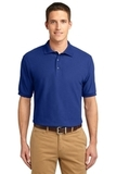 Extended Size Silk Touch Polo Shirt Royal Thumbnail