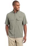 Eddie Bauer Short Sleeve Performance Fishing Shirt Driftwood Thumbnail