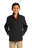 Youth Core Soft Shell Jacket Black Thumbnail