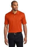 Performance Fine Jacquard Polo Shirt Autumn Orange Thumbnail