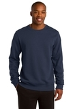 Crewneck Sweatshirt True Navy Thumbnail