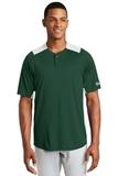 New Era Diamond Era 2-Button Jersey Dark Green with White Thumbnail