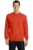 7.8-oz Crewneck Sweatshirt Orange Thumbnail