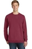Essential Pigment-Dyed Crew-Neck Sweatshirt Merlot Thumbnail