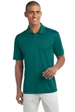 Legendary Sateen Moisture Wicking Polo Teal Green Thumbnail