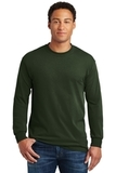 Heavy Cotton 100 Cotton Long Sleeve T-shirt Forest Thumbnail