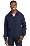 Hooded Raglan Jacket True Navy Thumbnail