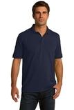 Port Company Tall 5.5-ounce Jersey Knit Polo Deep Navy Thumbnail