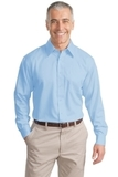 Long Sleeve Non-iron Twill Shirt Sky Blue Thumbnail