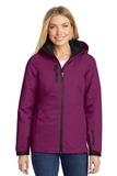 Women's Vortex Waterproof 3in1 Jacket Very Berry with Black Thumbnail