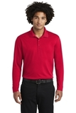 RacerMesh Long Sleeve Polo True Red Thumbnail