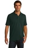 Port Company Tall 5.5-ounce Jersey Knit Polo Dark Green Thumbnail