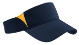 Dry Zone Colorblock Visor True Navy with Gold Thumbnail