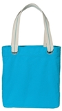 Allie Tote Turquoise with Shock Lime Thumbnail