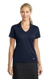 Women's Nike Golf Dri-FIT Vertical Mesh Polo Marine Thumbnail