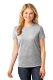 Women's 5.4-oz 100 Cotton T-shirt Ash Thumbnail