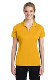 Women's Sport-Tek PosiCharge RacerMesh Polo Gold Thumbnail