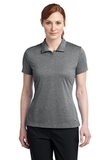 Women's Nike Golf Dri-FIT Heather Polo Carbon Heather Thumbnail