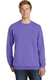 Essential Pigment-Dyed Crew-Neck Sweatshirt Amethyst Thumbnail