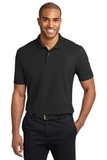 Tall Stain-resistant Polo Shirt Black Thumbnail