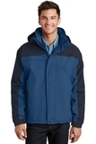 Nootka Jacket Regatta Blue with Navy Thumbnail