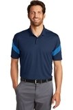 Nike Golf Dri-FIT Commander Polo Midnight Navy with Photo Blue Thumbnail