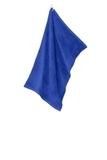 Grommeted Microfiber Golf Towel Royal Thumbnail