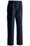 Men's Pleated Uniform Pant Navy Thumbnail