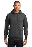 7.8-oz Pullover Hooded Sweatshirt Dark Heather Grey Thumbnail