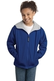 Youth Team Jacket Royal with Light Oxford Thumbnail