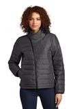 OGIO Ladies Street Puffy Full-Zip Jacket Tarmac Grey Thumbnail