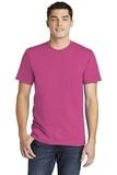 American Apparel Fine Jersey T-Shirt Fuchsia Thumbnail