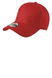 New Era Structured Fitted Cotton Cap Scarlet Red Thumbnail