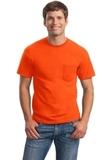 Ultra Cotton 100 Cotton T-shirt With Pocket S. Orange Thumbnail