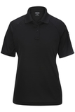 Women's Edwards Tactical Snag-proof Short Sleeve Polo Black Thumbnail