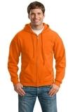 Full-zip Hooded Sweatshirt S. Orange Thumbnail