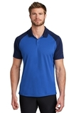 Nike Dry Raglan Polo Game Royal with Midnight Navy Thumbnail
