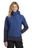 Women's Eddie Bauer WeatherEdge Jacket Cobalt Blue with River Blue Navy Thumbnail