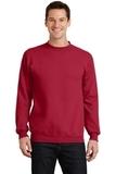 7.8-oz Crewneck Sweatshirt Red Thumbnail