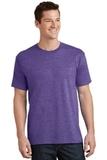 5.5-oz 100 Cotton T-shirt Heather Purple Thumbnail