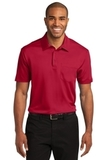 Silk Touch Performance Pocket Polo Red Thumbnail