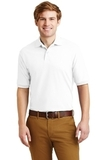 Spotshield 5.6-ounce Jersey Knit Polo Shirt White Thumbnail