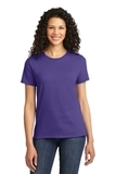 Women's Essential T-shirt Purple Thumbnail