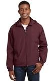 Hooded Raglan Jacket Maroon Thumbnail