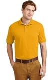Ultra Blend 5.6-ounce Jersey Knit Sport Shirt Gold Thumbnail
