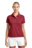 Women's Nike Golf Shirt Tech Basic Dri-FIT Polo Pro Red Thumbnail